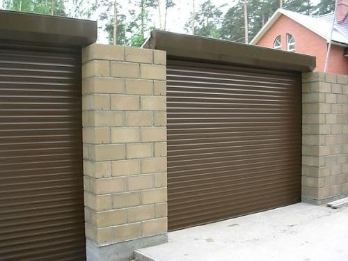 ворота гаражные рольставни сургут
