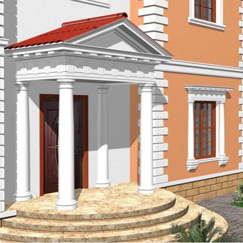 Материалы отделки фасадов домов фото