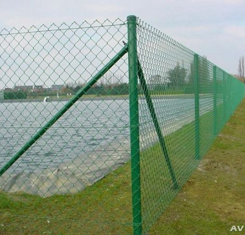 Забор из сетка пластиковая своими руками