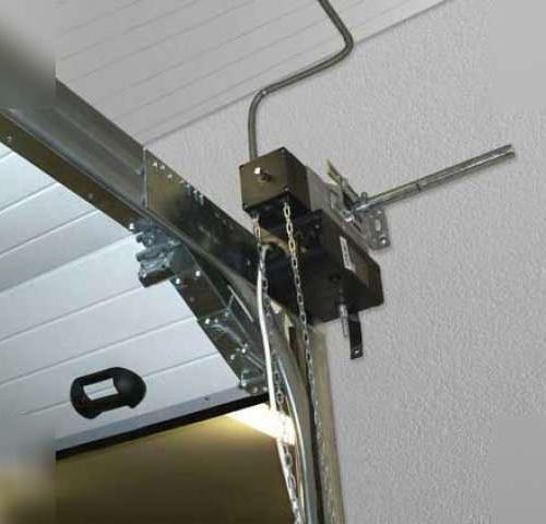 Автоматический секционных ворот для гаража