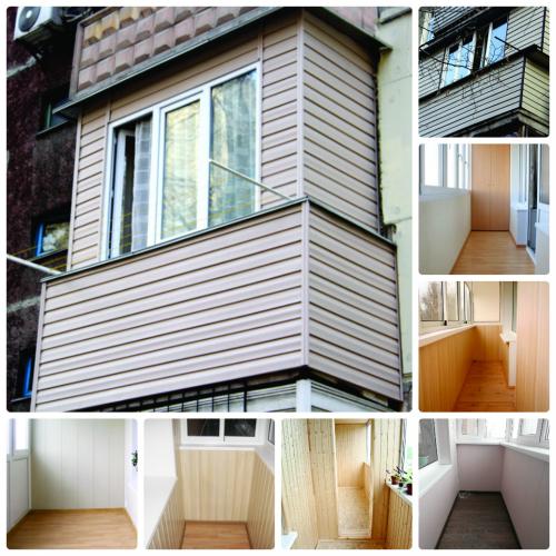 Отделка балконов. отделка балконов и лоджий в алматы. отделк.