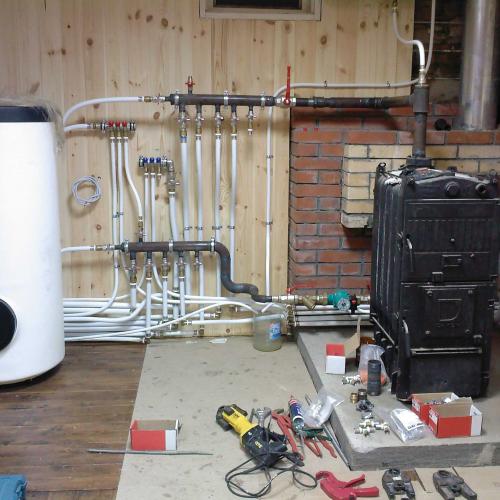 Газовый котел для отопления частного дома своими руками 13
