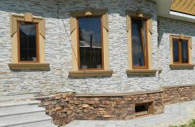 Фасады из мокрой штукатурки домов фото