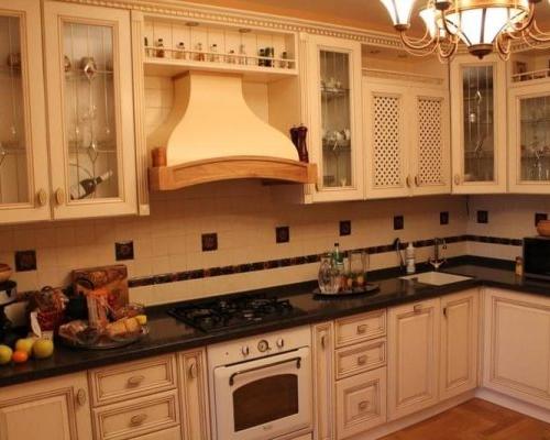 Мебель для кухни из массива дерева уфа