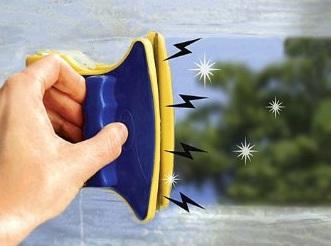Window Wizard магнитная щетка для мытья окон