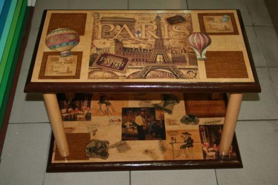 Реставрация журнального столика своими руками фото