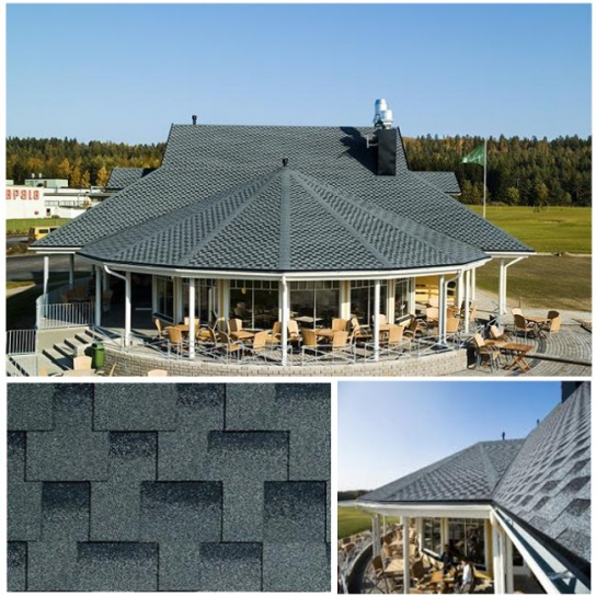Kerabit L+ - идеальный вариант для округлой крыши