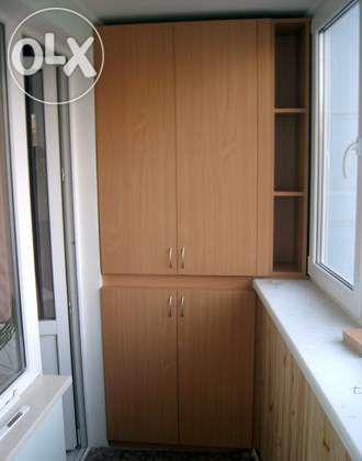 Мебель для балкона: заказ, цены в алматы. услуги изготовлени.