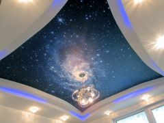 Натяжные потолки: виды, монтаж, дизайн