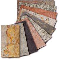 Каменный шпон - новинка в отделочных материалах.