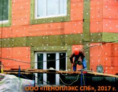 Утепление цокольных и первых этажей  эффективной теплоизоляцией ПЕНОПЛЭКС® - оптимальный выбор для фасадной системы