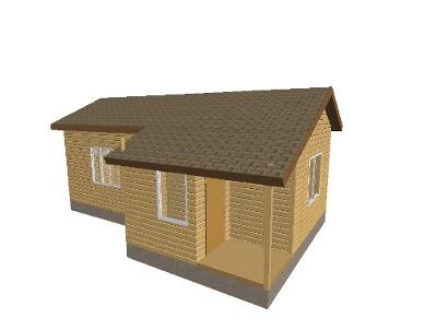 Временное жилье на даче